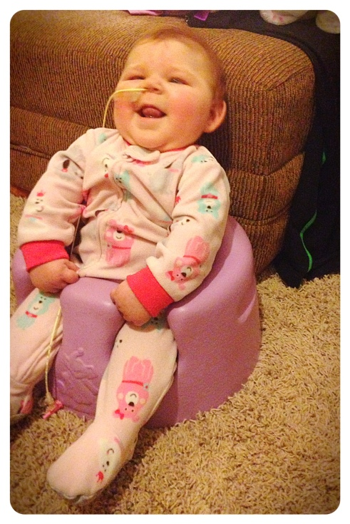 Luella in Chair