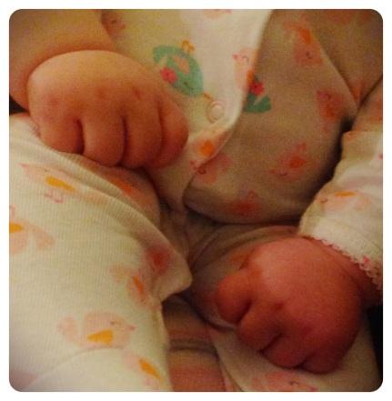 Luella's Hands