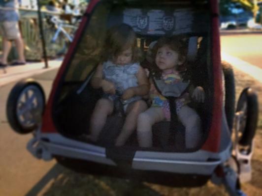 Big girls: Pippa and Luella